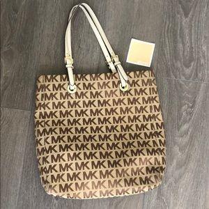 Michael Kors authentic logo tote purse / handbag